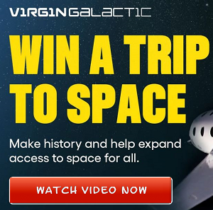 Richard Branson Announces You Could Win A Trip To Space